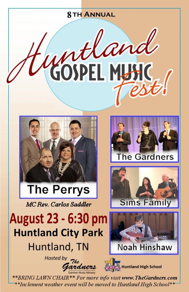 The 8th Huntland Gospel Music Fest