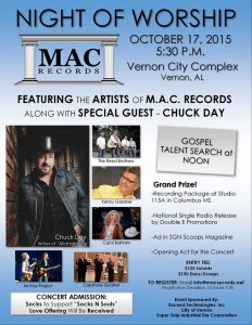 Mac night of worship