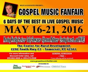 Gospel Music FanFair Returns to Somerset, Kentucky for 12th Annual Event
